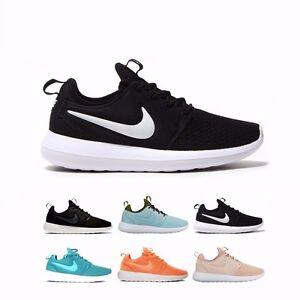 9b087b521afe 844931 Nike NSW Roshe Two 2 SE Flyknit Running Shoes Women s