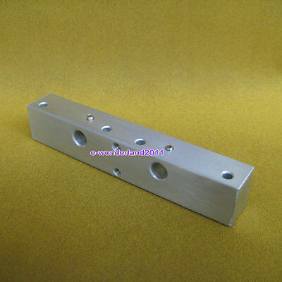 Aluminum Nozzle Chock Tube Fixture Block for Dual Extruder 3D Printer Makerbot