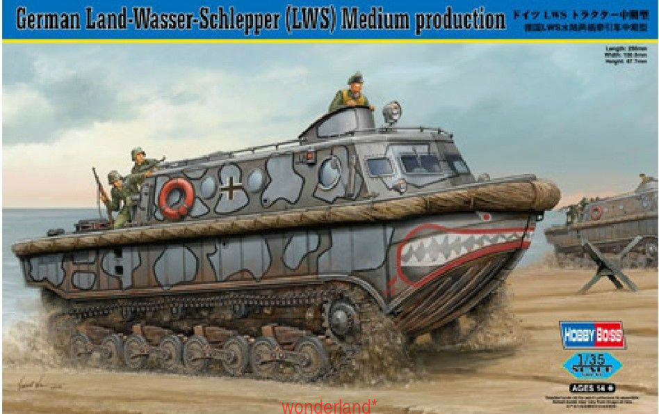 Hobbyboss 82433 1 35 German LWS Mid Production Model Kit
