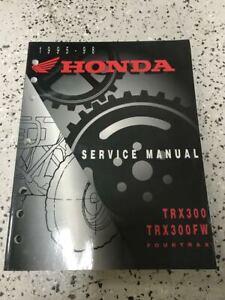 1995 1996 1997 1998 Honda TRX300EX SPORTRAX Service Repair ...