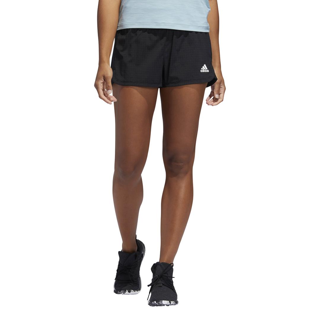 Adidas Damen Hosen Laufen Zwei IN Einem Netz Shorts Training Fitness DU3495