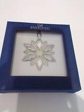 SWAROVSKI - SILVER/CRYSTAL STAR CHRISTMAS DECORATION - BNIB *sale price*