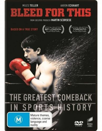 1 of 1 -  BLEED FOR THIS...SCORCESE...REG 4...NEW & SEALED
