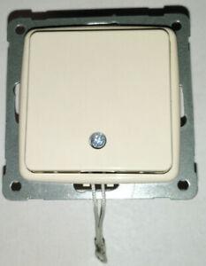 KOPP-Zugschalter-RIVO-Creme-weiss-Zug-Wechsel-Schalter-Cremeweiss-Aus-Schalter