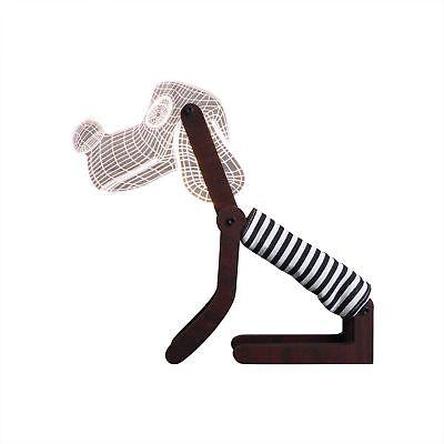 3D Acryl Sitzende Hund Nachtlicht 7 Farbwechsel Led Schreibtischlampe Touch X2F6