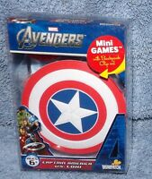 The Avengers Captain America Vs Loki Mini Games In Shield Case