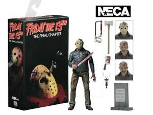 """IV Final Chapter JASON VOORHEES 7/"""" Ultimate Figure NECA Friday the 13th Part 4"""