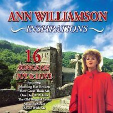 ANN WILLIAMSON - INSPIRATIONS (NEW SEALED CD) 16 SONGS OF JOY & LOVE