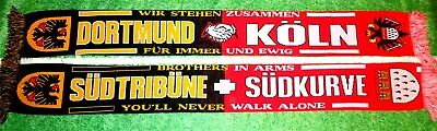 "München Bochum Schal /""BROTHERS IN ARMS/""  Ultra Fans Block Kurve Minga Ultra"