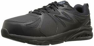 New-Balance-Mens-MX857V2-Low-Top-Lace-Up-Running-Sneaker-Black-Size-12-5-h9RS