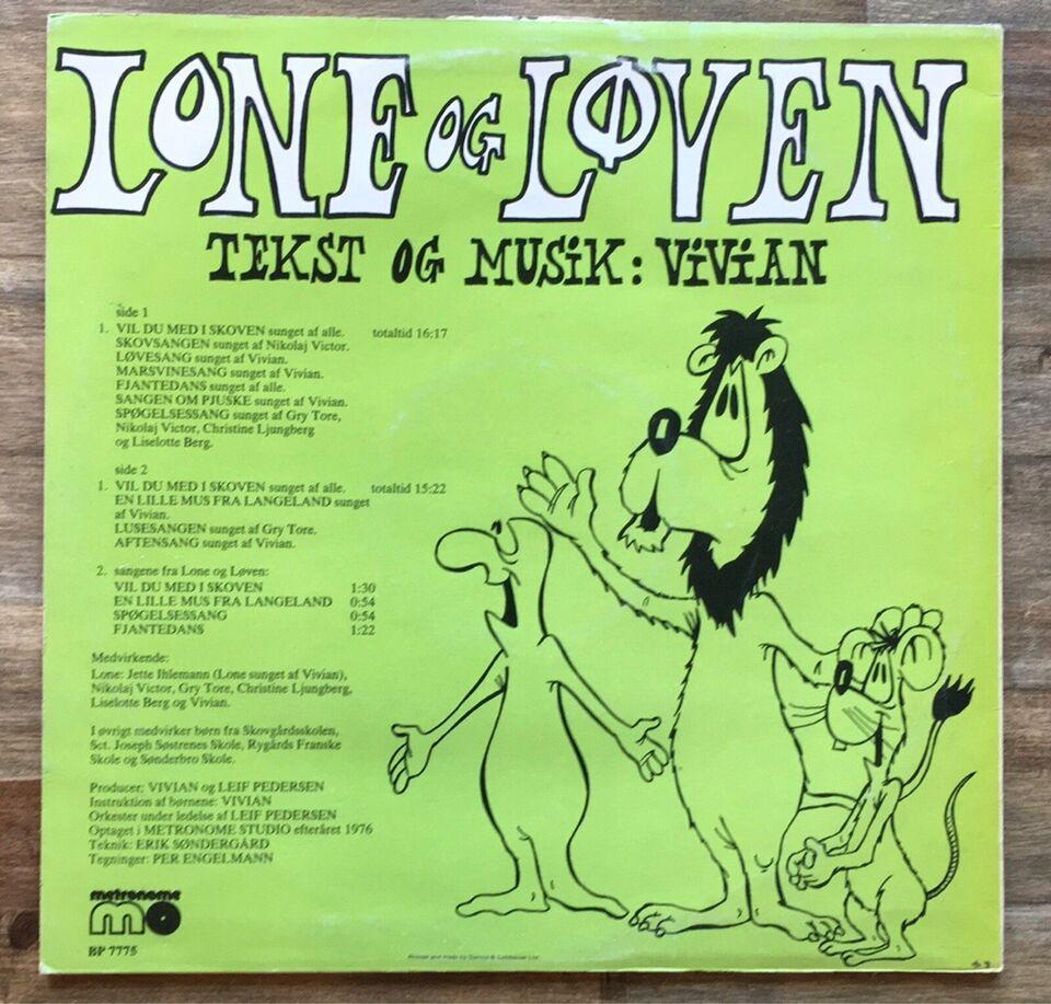 LP, Vivian, Lone og løven