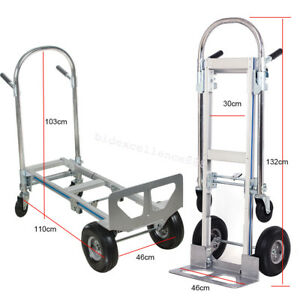 image is loading usa hand truck dolly 2 in 1 convertible - Convertible Hand Truck