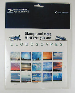 US-Postal-Service-Stamps-Cloudscapes-15-Stamps-Issue-2003-Free-U-S-Shipping