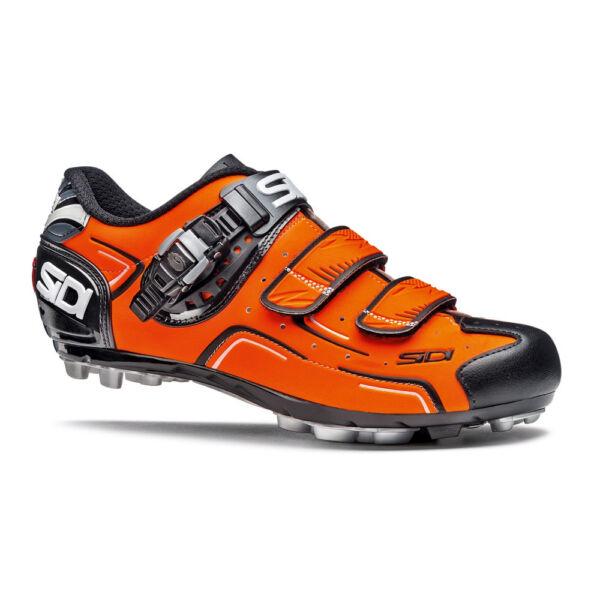 Appena Sidi Buvel Arancione Fluorescente Nero Eu 43.5 Scarpe Ciclismo Mountain Cx