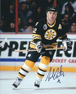 Autographed-8x10-Adam-Oates-Boston-Bruins-Photo-COA