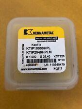 new KENNAMETAL 25.80mm IM1730827 KC7315 KenTIP Carbide Drill Insert 3448852