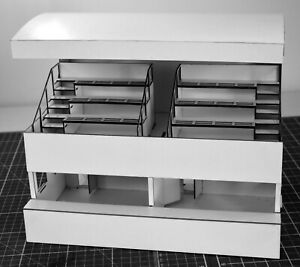 1-32-Scale-Covered-Grandstand-Pits-for-Scalextric-Other-Static-Layouts