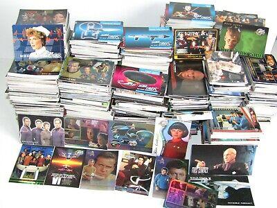 50 x Star Trek Trading Card Bundle ~ Original ~ Next Generation ~ DS9 ~ Voyager