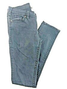 Silver-Jeans-Pixie-Super-Skinny-Women-039-s-Black-Low-RIse-Jeans-30x31