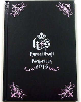 Black Butler Kuroshitsuji Pocketbook 2015 schedule book planner organizer promo