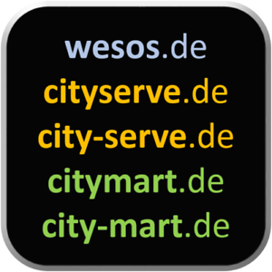 5-Domains-wesos-de-cityserve-de-city-serve-de-citymart-de-city-mart-de