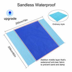 Anti-Sand-Waterproof-Beach-Mat-Travel-Picnic-Blanket-Beach-Towel-Camping-Pad-New