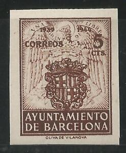 ESPANA-BARCELONA-1944-EDIFIL-55-S-D-NUEVO-SIN-GOMA