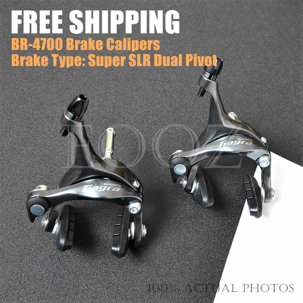 New Shimano Tiagra BR-4600   BR-4700 Brake Caliper Front Rear Set