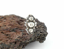 Vtg Sterling Silver Taxco Artemio Navarrette Signed Dome Ring 6
