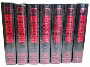 Berserk Deluxe Edition Manga - Volumes 1-7 Set Deluxe Hardcover by Kentaro Miura