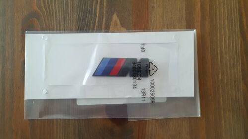 BMW MPOWER Noir Emblème Autocollant 1 2 3 4 5 6 x3 qualité x5 UK Stock