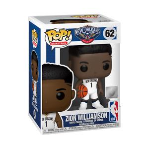 ZION WILLIAMSON - NEW ORLEANS PELICANS - FUNKO POP - BRAND NEW - NBA 44279