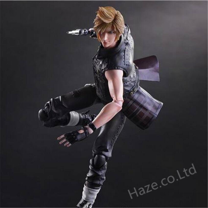 Play Arts Kai Final Fantasy XV PROMPTO silverUM Action Figure