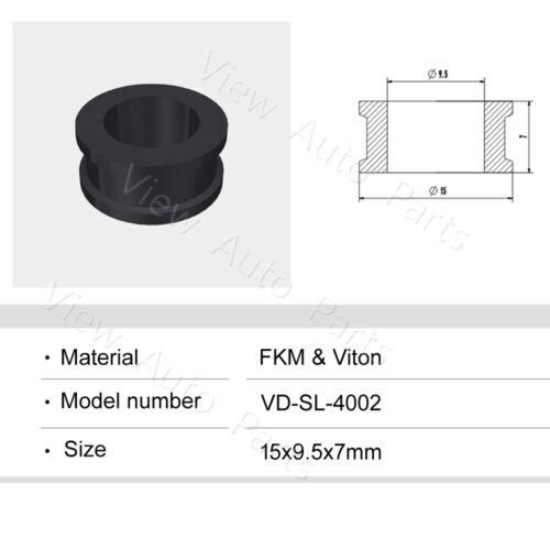100pcs For Mitsubishi Car Fuel Injector Rubber Seals Size:15*9.5*7mm  VD-SL-4002