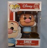 Pop Funko Smee 278 - Disney Treasures Exclusive Pirates Cover W/ Protector