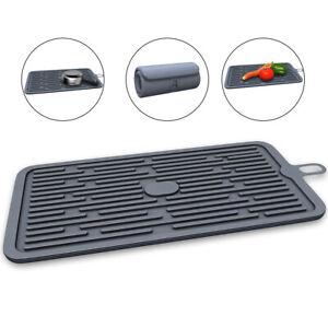 18-5-x-8-Large-Silicone-Pot-Pad-Trivet-Mats-Rubber-Pot-Holder-Dish-Drying-Mat