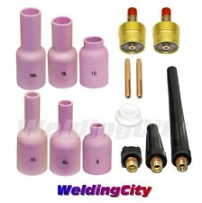 TIG Welding Large Gas Lens Accessory Kit 3/32 for Torch 9/20/25 T44B | US Seller