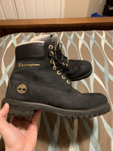 Champion x Timberland Boots