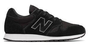 Wl520rk Mujer New Gimnasia 520 Balance Casual Negro Negro Zapato Zapatos 8PC7wHWq