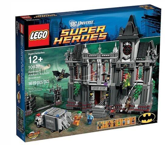 nuovo  Sealed Lego 10937 Arkham Asylum Breakout Super Heroes  colorways incredibili