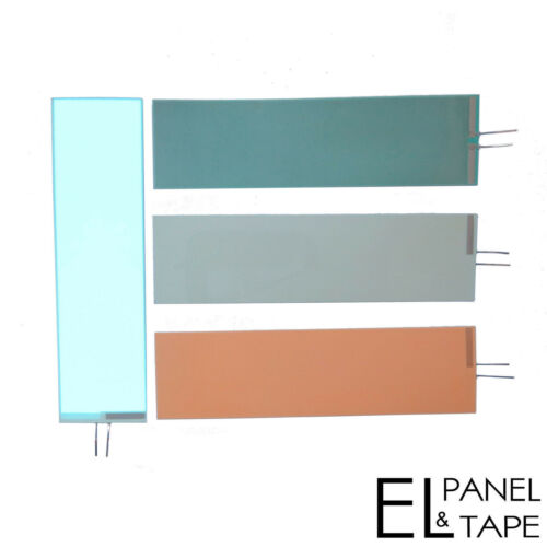 Glow Foil for Many Synths £15.00 43mm x 155mm Replacement EL Panel Backlight