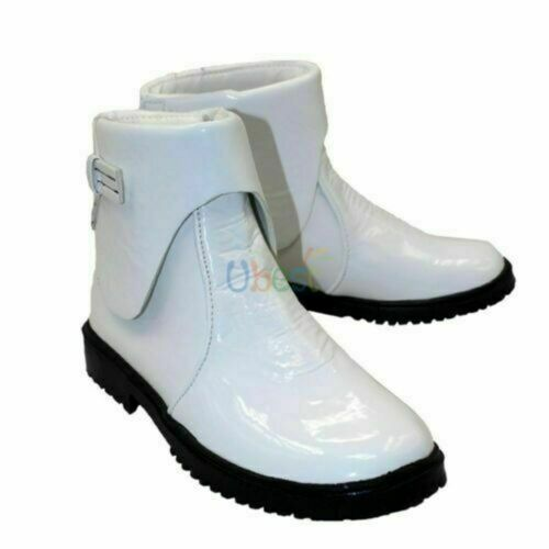 NEW !Star Wars The Force Awakens Stormtrooper White Short Cosplay Shoes Boots