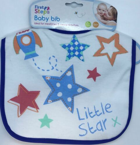 Cotton Tree Baby Wipe Fragrance Free 100 Pack and First Steps Baby Bibs Pink//Lit