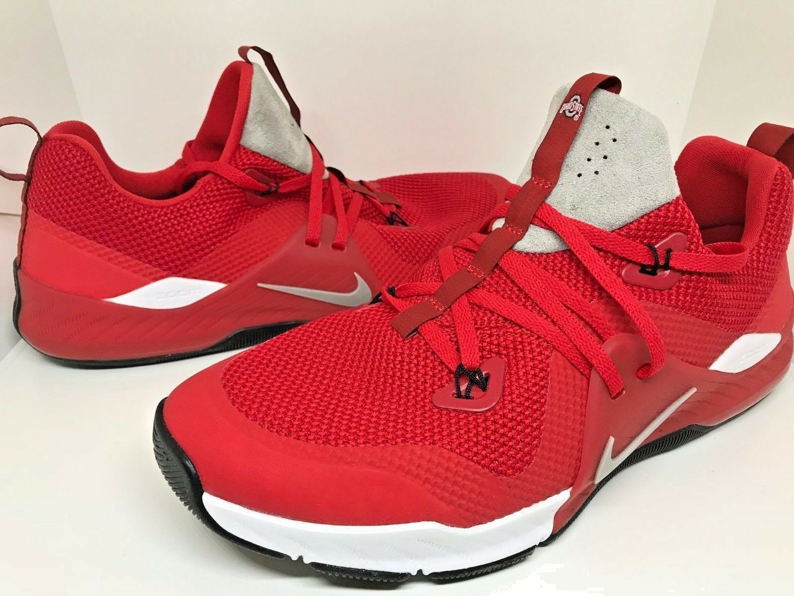 120 NEW Nike Mens Ohio State Buckeyes Zoom Train Command shoes Size 9.5 10.5