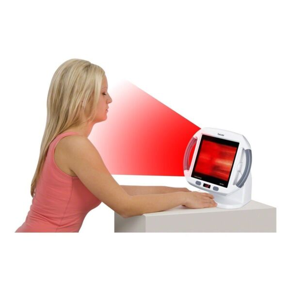 Beurer Il50 Infrared Heat Lamp For Muscle Pain And Cold