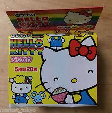 Hello Kitty, Furikake, 5 flavors, 20 packs in 1 bag, Japan,