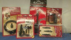 ALLEN-ARCHERY-RELEASE-SIGHT-SLING-REST-BROADHEADS-15099CAN-15325-6220-174-14660