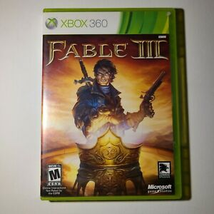 Fable III Microsoft Xbox 360 2010 M-Mature Complete Tested/Working