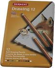 Derwent 12 doux Crayons de couleur Boîte en métal 671