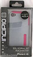 Incipio DualPro Silicrylic case for iPhone 4/4s Pink/Grey